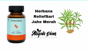 Herbana reliefsari jahe merah